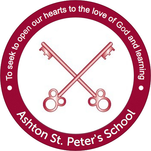 Ashton St. Peter's logo